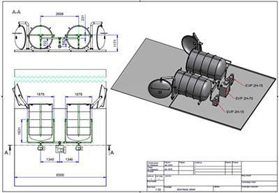 Sliding valve type vacuum pump