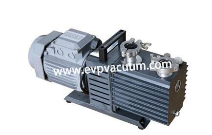 Rotary vane vacuum pump for freeze drying