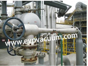Steam jet vacuum pumps in grease industry