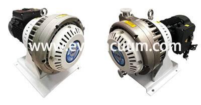 Oil-free dry scroll vacuum pump
