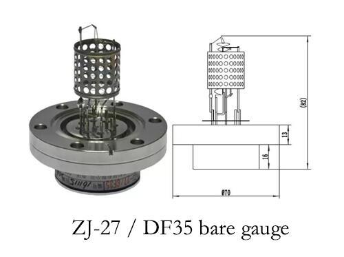 ZJ-27 vacuum gauge