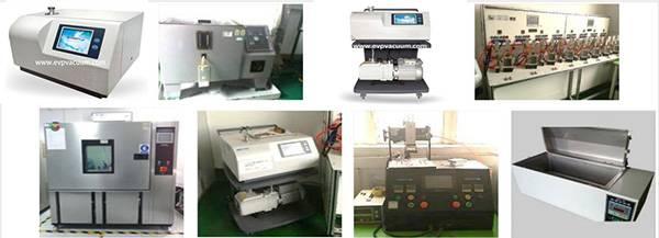 Application of helium mass spectrometer leak detector