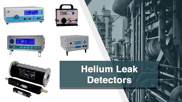 Helium mass spectrometer leak detector industry