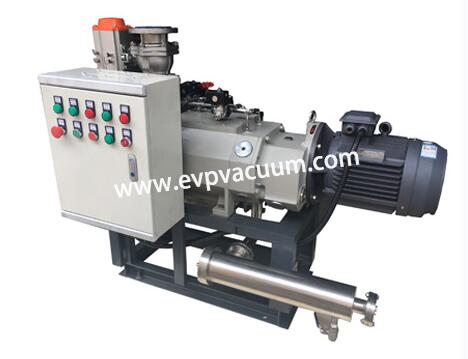 New Dry Compressing Screw Vacuum Pump