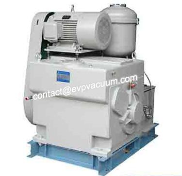 Rotary piston vacuum pump for our evaporative metallizer