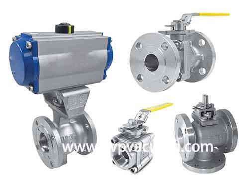 What is pneumatic vacuum ball valve
