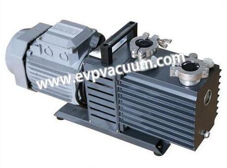 Vacuum pump for homogeneous emulsifier