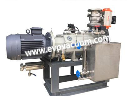 dry oil-free screw vacuum pumps