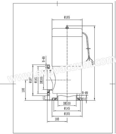 Solenoid vacuum pressure pneumatic valve size