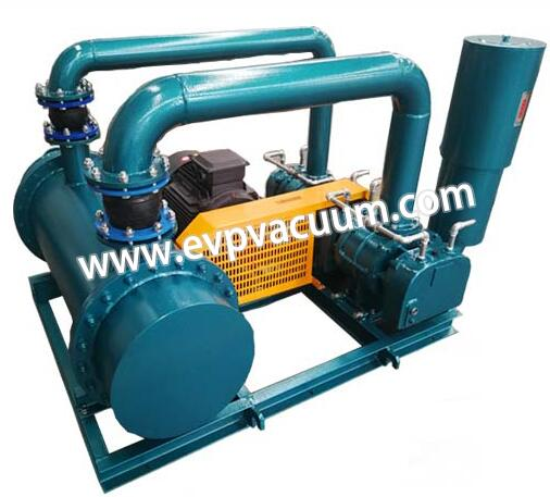 Two-stage series roots blower
