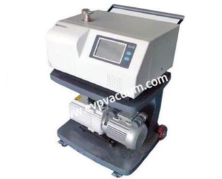 Helium mass spectrometry of vacuum leak detection method