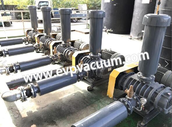 Roots blower for melt-blown cloth production line