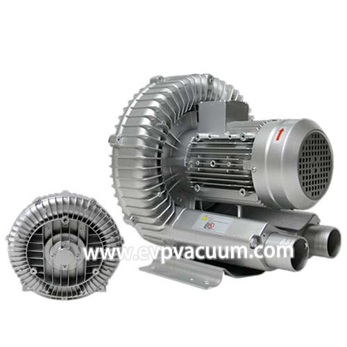 Air blower for food and beverage filling equipment