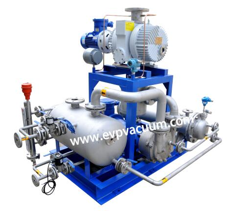 How to adjust the capacity of vacuum unit in freeze drying process
