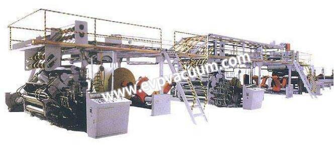 Pulp and paper-making machine use liquid ring vacuum pumps