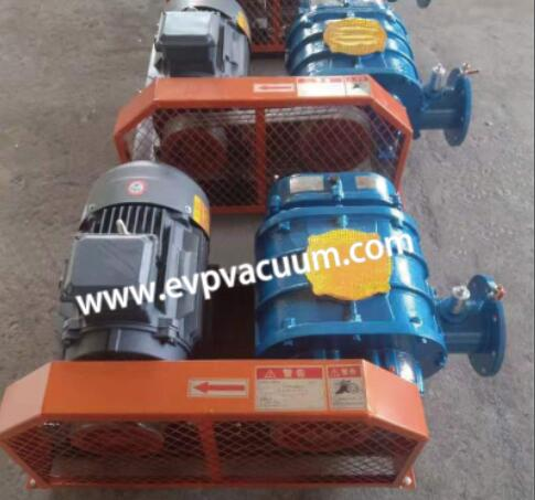 Roots blower for electroplating bath