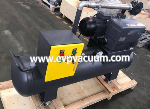 Single type vacuum pump automatic vacuum pump system