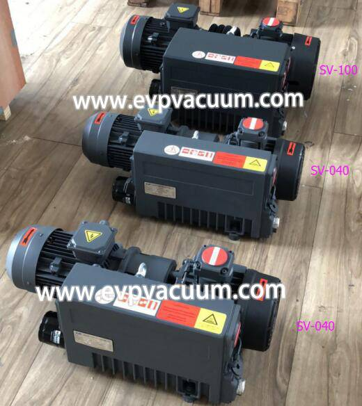Single type vacuum pump