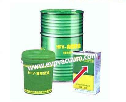 Vacuum pump oil characteristics