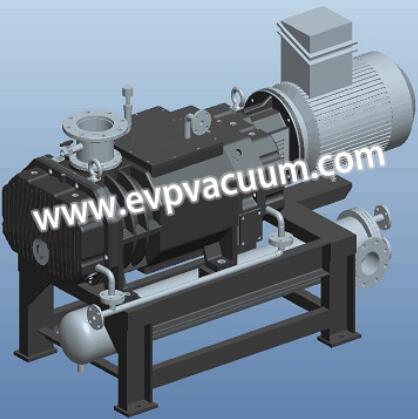 Why should screw vacuum pump use nitrogen?
