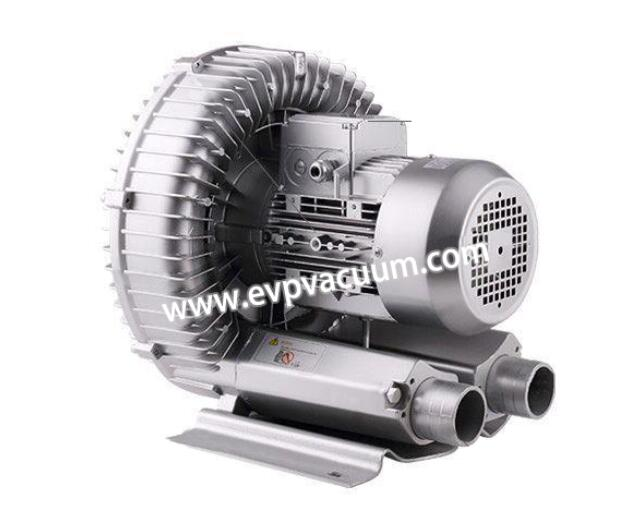 Air blower for packing machines