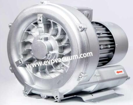Air blower for transmission of pure gas