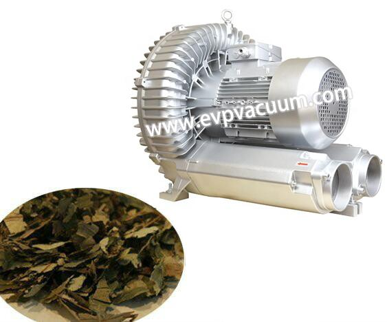 Air blower for tea drying equipment