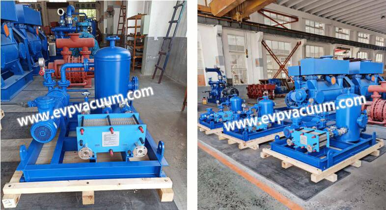 Application of water ring pump unit in vacuum plant essential oil extraction