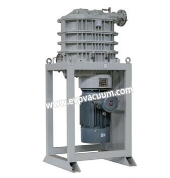 Claw vacuum pump