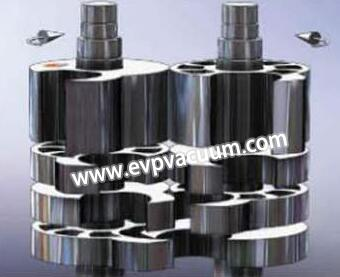 Dry claw vacuum pump of special advantages