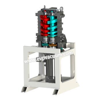 Dry claw vacuum pump operation