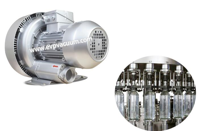 Special air blower for filling equipment