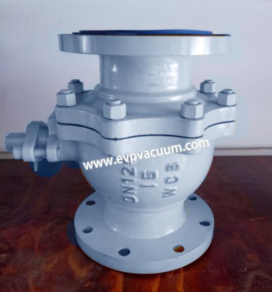 Special gas ball valve