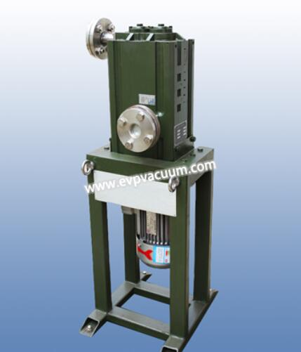 Vertical direct coupling claw dry vacuum pump