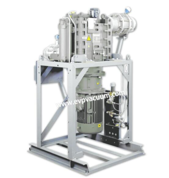 What is dry claw vacuum pump?