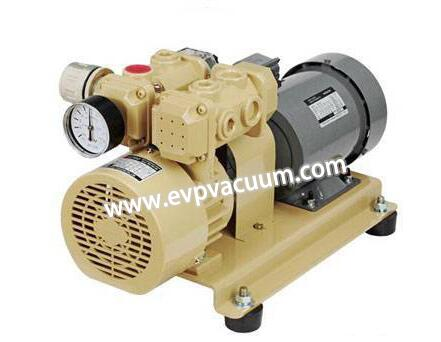 oil less rotary vane type vacuum pump
