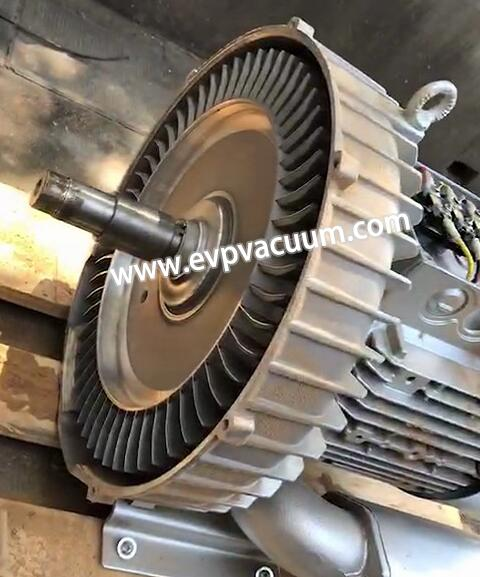 picture shows the impeller of normal blower