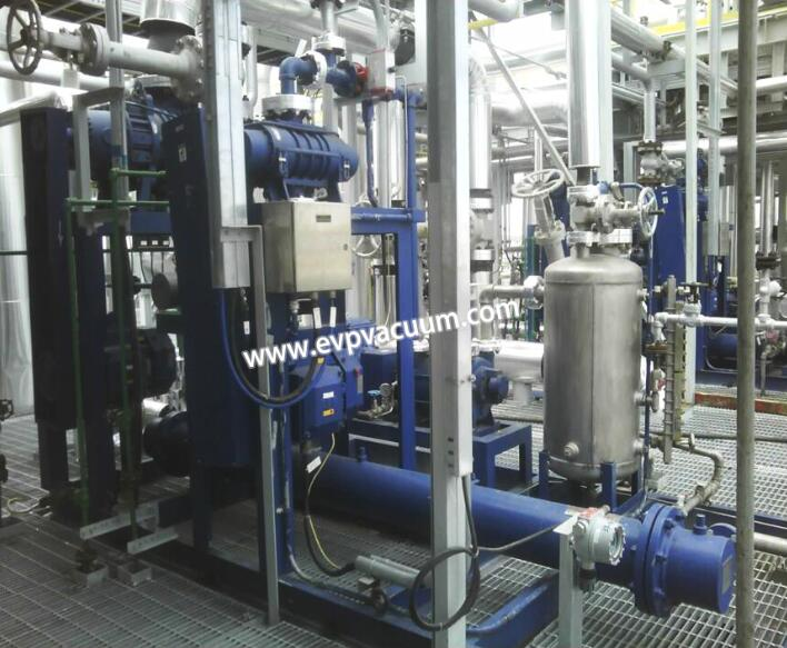 Polystyrene used in vacuum system
