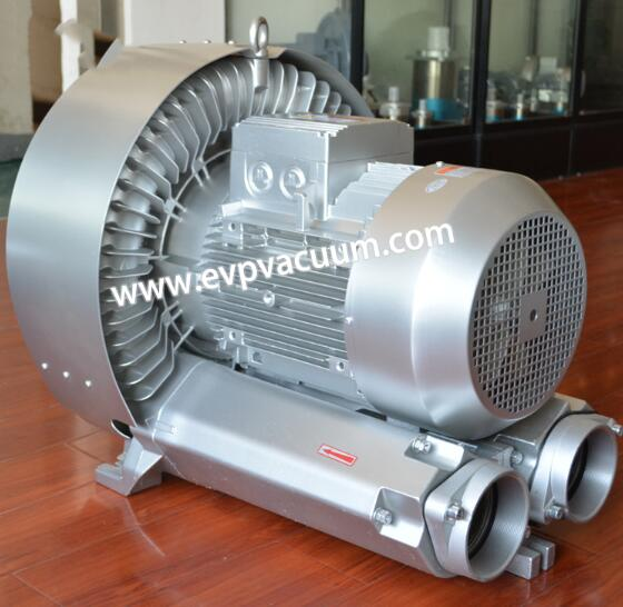 Air blower for grinding machine