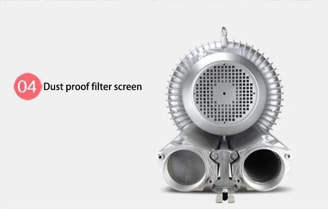 Air blower for dust proof filter screen