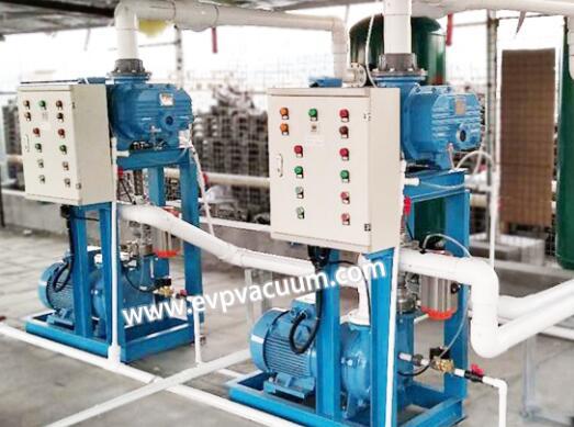Vacuum unit system