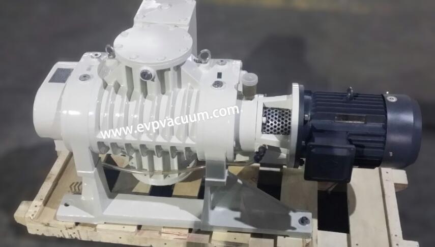 Roots vacuum pump for GRC light plate production