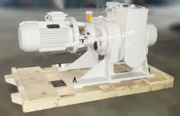 Roots vacuum pump is used for car battery disassembly and transportation
