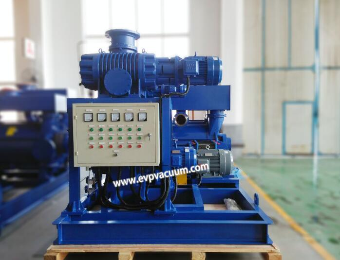 Vacuum system used in strong acid environment