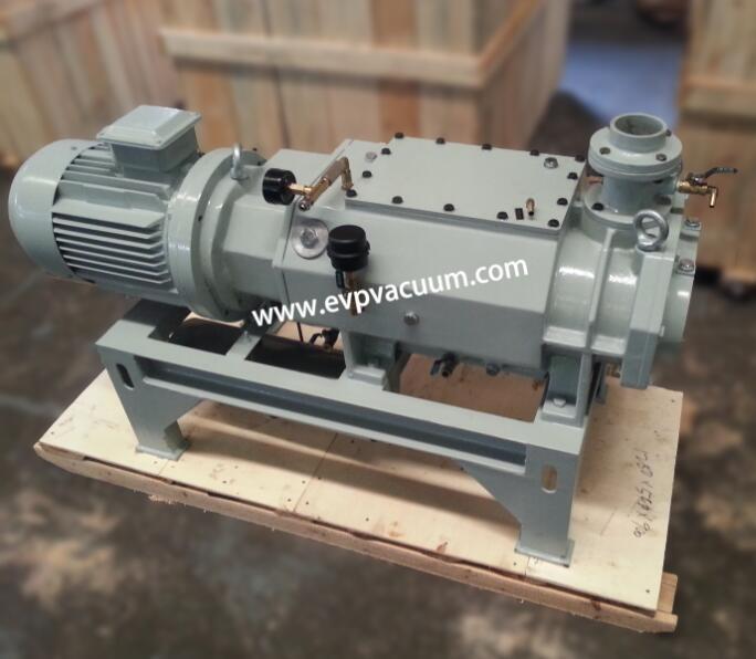 Screw vacuum pump of standard accessories