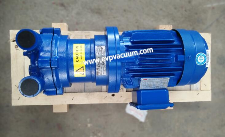 Vacuum pump during stone antifouling treatment