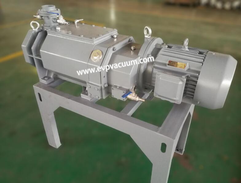 Vacuum pump for electrolytic capacitor