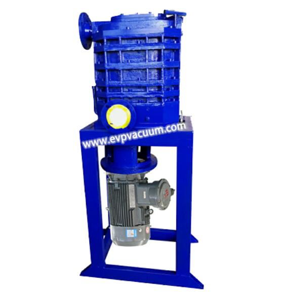 Claw type vacuum pump of air dehydration