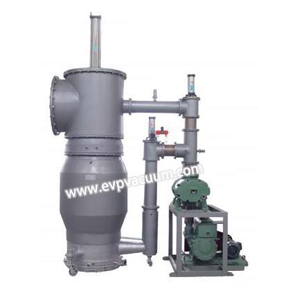 Ultra high vacuum unit of diffusion pump