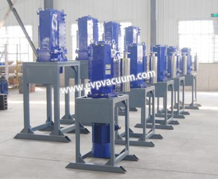 Vertical screw pump operation